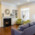 photo of the kingston townhome family room