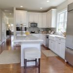 photo of the banbury townhome kitchen island