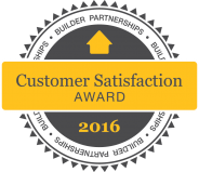 Builder Partnerships Customer Satisfaction Award 2016