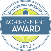 Builder Partnerships Customer Satisfaction Award 2015