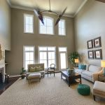 New luxury homes with high ceilings