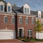 New luxury homes with brick exterior